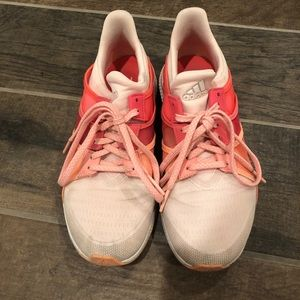 Adidas pink sneakers size 7